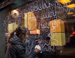 Pintura Mural Elennon cristal costello