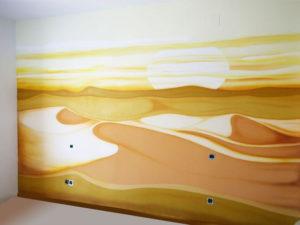 Pintura Mural Elennon color habitacion desierto