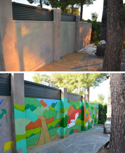 Pintura Mural Murales Elennon color jardín