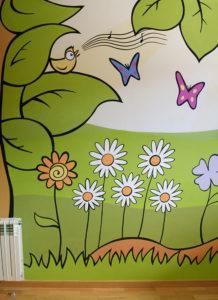 Pintura Mural Murales Elennon bosque