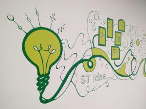 Mural Elennon Pintura mural color