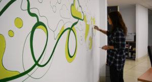 Pintura Mural Elennon color
