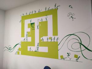 Pintura Mural Elennon color logo