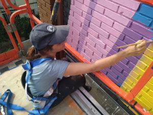 Pintura Mural Murales Elennon color fachada